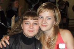 Анастасия Камардина и Анастасия Трегубова